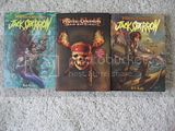 3 New paperbacks Pirates Caribbean